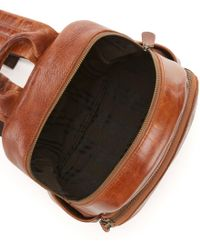 Frye | Brown Campus Small Leather Backpack | Lyst