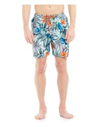 Tommy Bahama | Blue Naples Tropical Tangle Swim Trunks for Men | Lyst