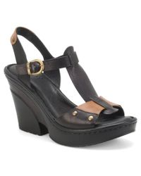 Born | Black Blintz Sandals | Lyst