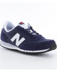 New Balance - Blue Women´s 410 Lifestyle Sneakers - Lyst