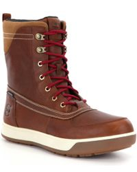 Timberland | Brown Tenmile Men ́s Waterproof Cold Weather Boots for Men | Lyst