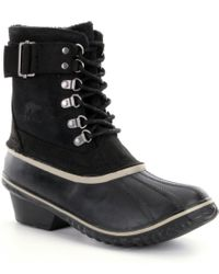 Sorel | Black ® Women ́s Winter Fancy Lace Ii Waterproof Boots | Lyst
