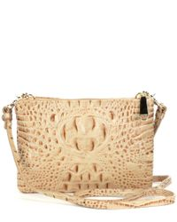 Brahmin - Multicolor Melbourne Collection Perri Croco-embossed Cross-body Bag - Lyst