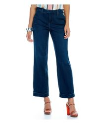 NYDJ | Blue Mila Relaxed Ankle Jeans | Lyst