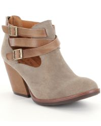 Kork-Ease | Multicolor Kork-ease 'stina' Leather Bootie | Lyst