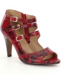Isola   Red Women´s Dara Dress Sandals   Lyst