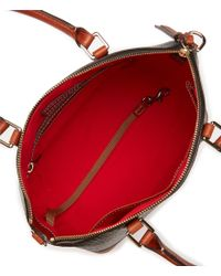 Dooney & Bourke - Multicolor Cordova Collection Toni Leather Satchel - Lyst