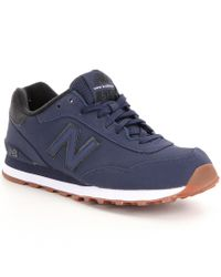 New Balance | Blue Men ́s 515 Lace Up Sneakers for Men | Lyst