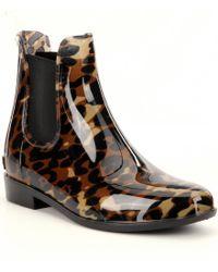 Lauren by Ralph Lauren | Black Tally Rain Boots | Lyst