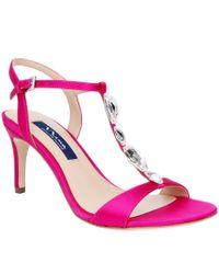 Nina - Multicolor Kasmira Swarovski Dress Sandals - Lyst