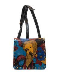 Patricia Nash | Blue Mod World Collection Granada Cross-body Bag | Lyst