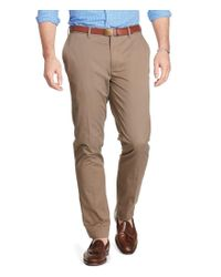 Polo Ralph Lauren | Brown Big & Tall Stretch Classic-fit Twill Pants for Men | Lyst