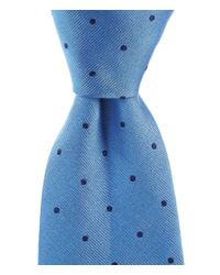 Brooks Brothers | Blue Dot Traditional Silk Tie for Men | Lyst