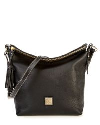 Dooney & Bourke | Black Pebble Collection Small Dixon Hobo Bag | Lyst