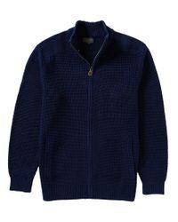 Pendleton | Blue Langston Full-zip Cardigan for Men | Lyst