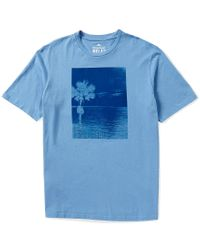 Tommy Bahama | Blue One Palm Weekend Short-sleeve Graphic Tee for Men | Lyst