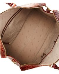 Brahmin - Brown Melbourne Collection Anywhere Traveler Bag - Lyst