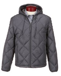 Marc New York | Gray Andrew Marc Appleton Packable Down Quilted Hipster Jacket for Men | Lyst