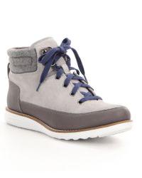 Cole Haan | Gray Hiker Grand Waterproof Boots for Men | Lyst
