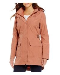 The North Face Multicolor Tomales Bay Waterproof Removable-hood Solid Anorak Jacket