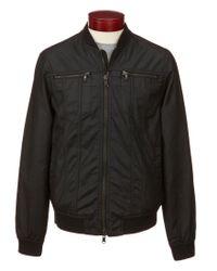 John Varvatos | Black Star Usa Full-zip Bomber Jacket for Men | Lyst
