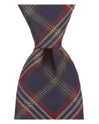 Brooks Brothers | Blue Tartan Plaid Traditional Silk Tie for Men | Lyst