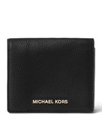 MICHAEL Michael Kors | Black Mercer Carryall Card Case | Lyst