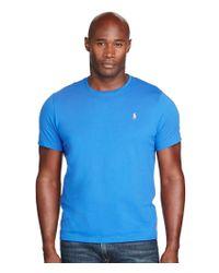 Polo Ralph Lauren   Blue Big & Tall Jersey Crewneck T-shirt for Men   Lyst