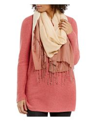 Eileen Fisher | Multicolor Wool Silk Ombre Scarf | Lyst