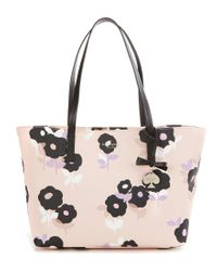 kate spade new york | Multicolor Hawthorne Lane Collection Ryan Floral Tote | Lyst
