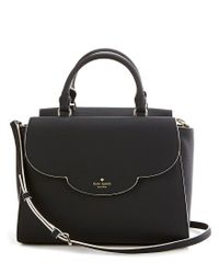 Kate Spade | Black Leewood Place Collection Makayla Scalloped Satchel | Lyst