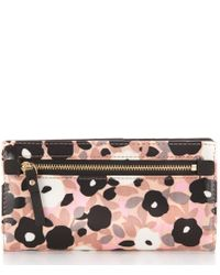 kate spade new york - Multicolor Cedar Street Collection Floral Stacy Continental Wallet - Lyst