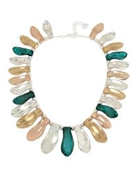 Robert Lee Morris | Blue Sculptural Petal Collar Necklace | Lyst
