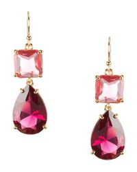 kate spade new york | Multicolor Stone Drop Earrings | Lyst