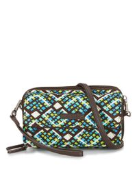 Vera Bradley - Multicolor Rfid All In One Cross-body Bag - Lyst