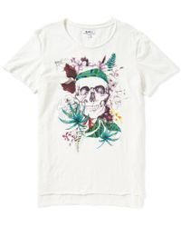 William Rast - White Julian Short-sleeve Graphic T-shirt - Lyst