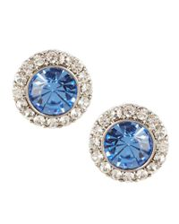 Carolee | Something Blue Stud Earrings | Lyst
