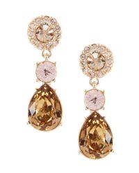 Givenchy - Metallic Triple-drop Earrings - Lyst