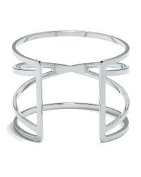Vince Camuto - Metallic Goldtone Crisscross Cuff - Lyst
