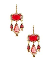 Carolee - Multicolor Victorian Empire Chandelier Earrings - Lyst