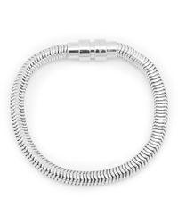 Kenneth Cole - Metallic Snake Chain Bracelet for Men - Lyst