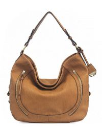 Jessica Simpson Brown Roxanne Hobo Bag