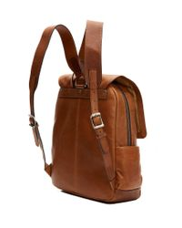 Frye - Brown Oliver Backpack - Lyst
