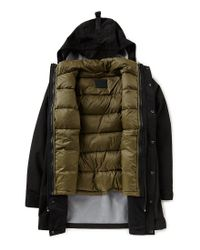 Ugg - Green Convertible Downfilled Parka for Men - Lyst