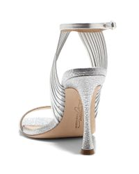 Vince Camuto - Imagine Raim2 Metallic Strappy Dress Sandals - Lyst