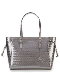 MICHAEL Michael Kors Multicolor Voyager Metallic Top-zip Tote