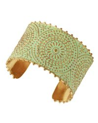 Lucky Brand - Metallic Petina Statement Cuff Bracelet - Lyst