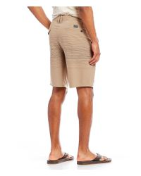 O'neill Sportswear - Natural Mixed Hybrid Walk Shorts for Men - Lyst