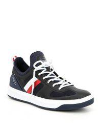 Polo Ralph Lauren - Blue Court 200 Mesh Sneakers for Men - Lyst