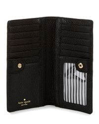 Kate Spade - Black Jackson Street Collection Stacy Continental Wallet - Lyst